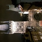 View from balcony onto Gate Tower of Charles Bridge