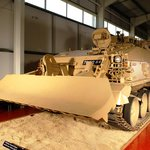 CRARRV tank in the museum's Vehicle Hall