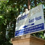 only small panel of Bou Savy Guesthouse