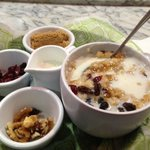 Oatmeal at the Bistro