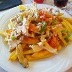 Gyros Chicken A la Crème!