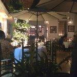 Outdoor dining at Quartier Latin
