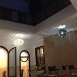 Riad by night