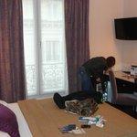 Panorama della camera...