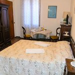 a room with antique furniture