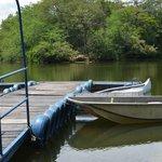 Zona de pesca y deportes náuticos