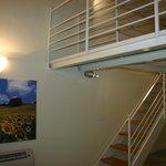 Appartamento Girasole, spazioso soppalco.