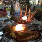 gamberi e pesce