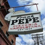this place is famous for its pizza and long lines