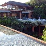 Hotelrestaurant und Lounge