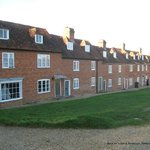 Buckler's Hard (the hotel is the far end of this row)