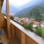 View from balcony towards Mayrhofen