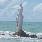 Sereia - Escultura no mar :)
