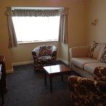 Lounge area in Executive Room