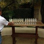 wine tour starts outside