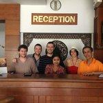 Réception du Phang Nga Inn