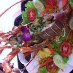 BBQ. Lobster