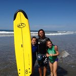 Definitely take surfing lessons with Manu!
