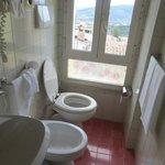 Salle de bain et jolie vue