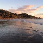 Playa Maderas afternoon glow