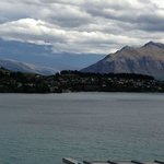View of Lake Wakatipu from our room