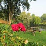 Garden and Avon River