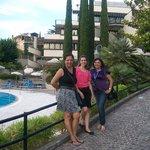 No Jardim do Hotel