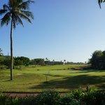 Гольф-поле на территории отеля