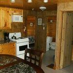 Inside a 2 bedroom cottage