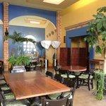 dining area at La Villa Del Ensueno
