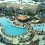 New Winstar pool area view from Pool Tower North