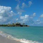Adjacent undeveloped beach