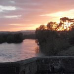 Sunset over the River Wye
