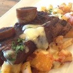 surf and turf poutine