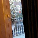 View from my tiny balcony