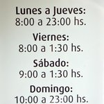 Amplios horarios
