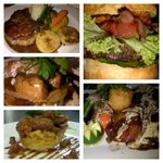 Ox tongue Lamb tongue Algarve chicken livers. Voortrekker vetkoek  burger