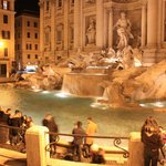 Trevi fountain 5 minute walk
