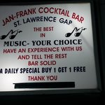 Jan and Franks Cocktail Bar