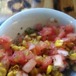 bottomless roasted corn salsa