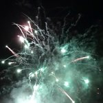 Fireworks at turkey and tinsel weekend (16.11.13)