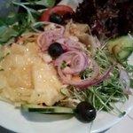 Salat Teller vom Buffet