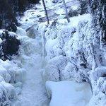 Chutes de Rawdon hiver