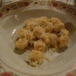 Gnocchi di patate rosse e gorgonzola