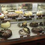 Vitrine dos cheesecakes