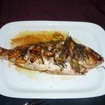 le poisson préparé par Sonia .