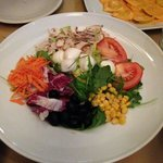 Salad, its was very very very delicious