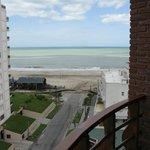 Vista desde el balcón. 7º Piso