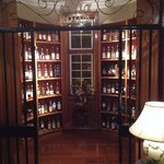 The Malt Room in the bar.