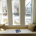 Our Cozy Windowseat - A Great Place to Read!